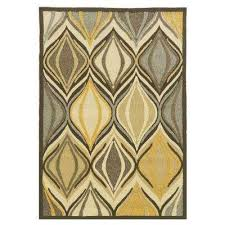 Yellow Rugs 8 X 10 Multi Colored Outdoor Rugs Rugs The Home Depot