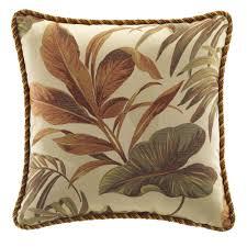 18 square bali palm tropical comforter bedding by croscill