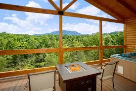 Vacation Home Design Trends Bedroom 1 Bedroom Cabins In Smoky Mountains Interior Design