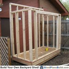 lean to shed next plans build a 8 8 simple 12 16 cabin floor plan front wall header installed jpg