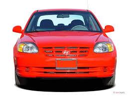 2004 hyundai accent manual image 2004 hyundai accent 4 door sedan gl manual front exterior