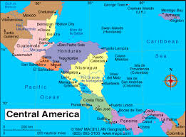 map central central america map scuba diving in honduras