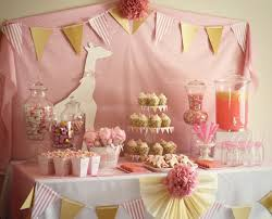 girl baby shower baby girl baby shower ideas remarkable baby shower cake table