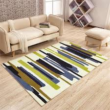 Modern Bedroom Rugs Modern Simple Area Rug For Living Room Home Bedroom Rugs And