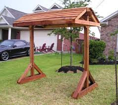 Patio Swing Chair With Stand by Sugar Land Cedar Porch Swings Stands Chairs And Outdoor Furniture