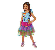 buy my little pony rainbow dash fancy dress costume 3 4 years at