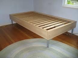platform bed frame plans twin andyozier com