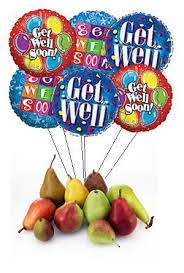 get well soon balloons get well soon balloons the pear dish