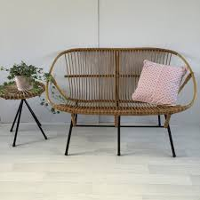 furniture resin wicker sectional wicker settee cushions for