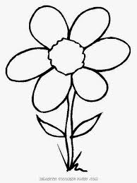 flowers coloring pages for kids printable free coloing 4kids