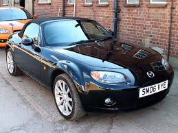 2006 mazda mx5 sport manual 6 speed black leather alloys good