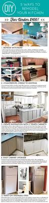 kitchen facelift ideas before and after 25 budget kitchen makeover ideas