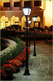Solar Powered Wall Lights Uk - lighting solar led garden post lights solar garden lamp post