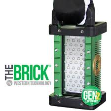 explosion proof led work light the brick portable explosion proof area light western technology