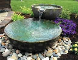 small rock fountain ideas garden with a fountain pictures japanese