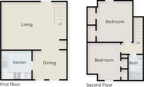 Floor Plan Image by Iconic Village Apartments Denton Student Apartments