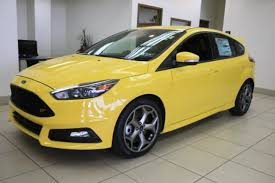 ford focus st yellow 2017 ford focus st hatchback in yellow greensburg pa