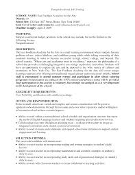 Resume Sample Tutor by Paraprofessional Resume Sample Free Resume Example And Writing