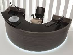 modular reception desk with built in lights romanian evening