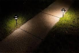 Landscape Path Light Led Landscape Path Lights Dual Tier 4 Watt Aluminum Housing