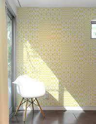 yellow crystal blik wall tiles geometric wall decals