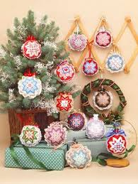 easy cross stitch folded star ornaments has been revived
