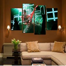 Home Decoration Paintings Online Get Cheap 4 Panel Painting Music Aliexpress Com Alibaba