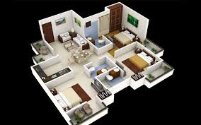 3 bedroom home design plans 3972 ideas house plans 4 bedroom one