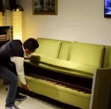 Sofa Bed Bunk Bed Sofa Beds Gif Find On Giphy