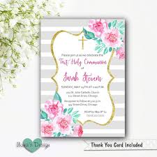 communion invitation girl communion invitation girl communion invitation