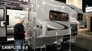 survival truck camper 2013 camplite all aluminum truck campers rv retire soon