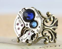 unique mothers rings unique mothers ring antique brass birthstone ring custom steunk