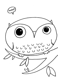 realistic owl coloring pages coloringstar