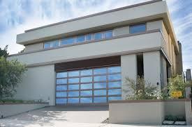 Modern House Garage San Diego Glass Garage Doors