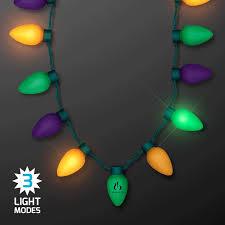 jumbo mardi gras mardi gras led jumbo bulbs strand necklaces