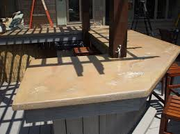 outdoor concrete counter tops masonry contractor talk in concrete