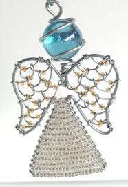beaded wire ornament zenda bead