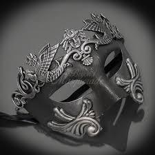 metal masquerade mask masquerade masks platinum silver themed