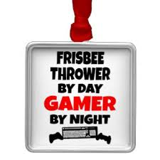 throwing frisbee ornaments keepsake ornaments zazzle