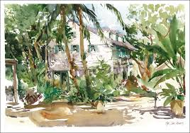 i could get used to living in key west urban sketchers