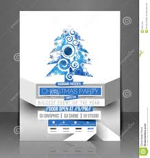 christmas party flyer royalty free stock photo image 35921125