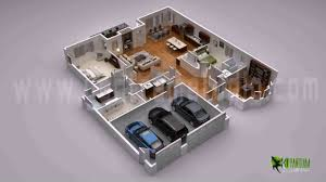 duplex house plans 3d view youtube