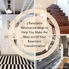 5 basement renovation design ideas dig this design
