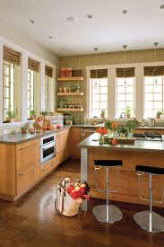 kitchen without upper wall cabinets idea house kitchen design ideas southern living
