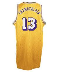 adidas men u0027s wilt chamberlain los angeles lakers retired player