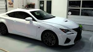 lexus rc f 2016 lexus rc f ultra white youtube