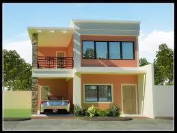 house designes modernize small 2 storey house plans best house design