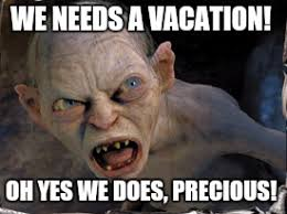 Meme Vacation - gollum vacation meme zachary totah