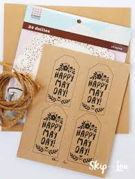 celebrate may day with these cute may day printable gift tags