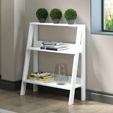 Pottery Barn Leaning Bookcase Shelves Diy Ladder Shelf Ladder Bookshelf Diy Diy Ladder Shelf